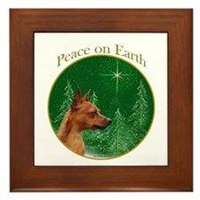Min Pin Peace Framed Tile