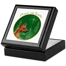 Min Pin Peace Keepsake Box