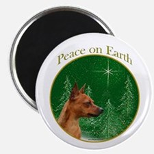 Min Pin Peace Magnet