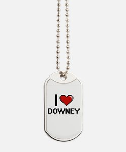 I love Downey Digital Design Dog Tags