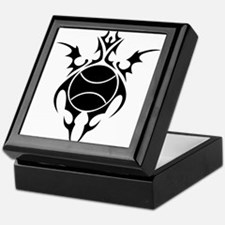 tribal tennis ball Keepsake Box