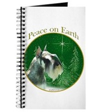 Mini Schnauzer Peace Journal