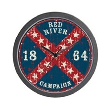 Red River Campaign Wall Clock