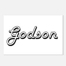 Godson Classic Retro Desi Postcards (Package of 8)