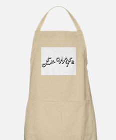 Ex-Wife Classic Retro Design Apron