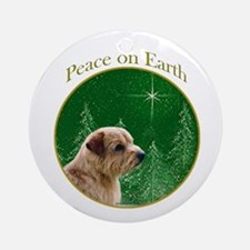 Norfolk Peace Ornament (Round)