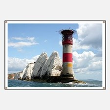 The Needles Lighthouse, England Banner