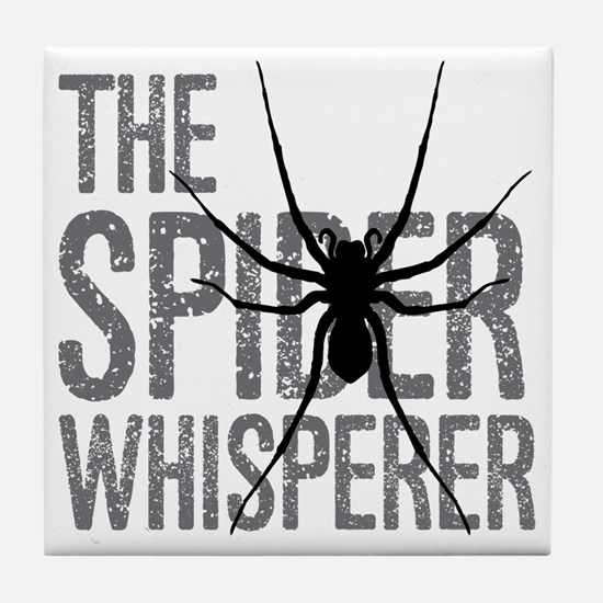 The Spider Whisperer Tile Coaster