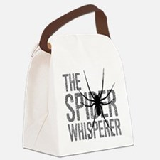 The Spider Whisperer Canvas Lunch Bag