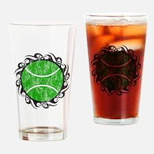 distressed tribal tennis Drinking Glass