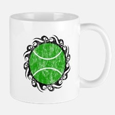 distressed tribal tennis Mugs