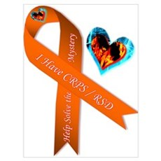 I Have CRPS Solve the Mystery Ribbon Poster