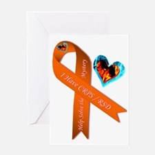 I Have CRPS Solve the Mystery Ribbon Greeting Card