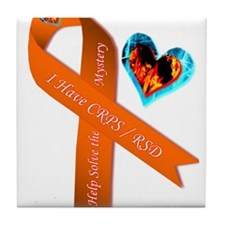 I Have CRPS Solve the Mystery Ribbon Tile Coaster