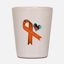 I Have CRPS Solve the Mystery Ribbon Shot Glass