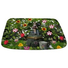 Tea Fairy Redux Bathmat