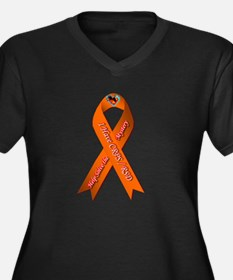 I have CRPS Fire & Ice Heart Rib Plus Size T-Shirt