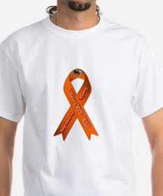 I have CRPS Fire & Ice Heart Ribbon T-Shirt