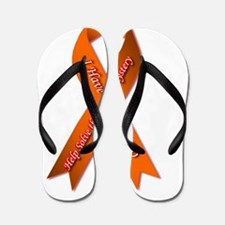 I have CRPS Fire & Ice Heart Ribbon Flip Flops