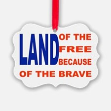 Brave Flag Ornament