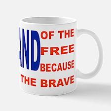 Brave Flag Mugs