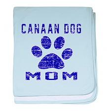 Canaan Dog mom designs baby blanket