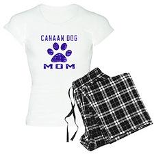 Canaan Dog mom designs pajamas