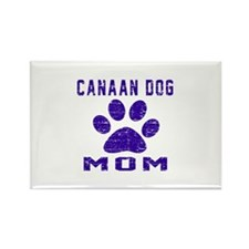 Canaan Dog mom designs Rectangle Magnet (100 pack)