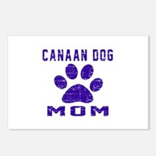 Canaan Dog mom designs Postcards (Package of 8)