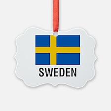 FLAG of SWEDEN Ornament