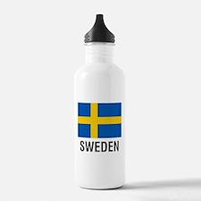 FLAG of SWEDEN Sports Water Bottle