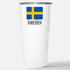 FLAG of SWEDEN Stainless Steel Travel Mug