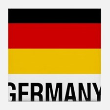 FLAG of GERMANY Tile Coaster