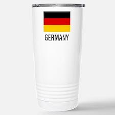 FLAG of GERMANY Stainless Steel Travel Mug