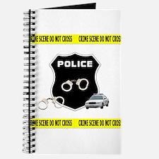 Police Crime Scene Journal