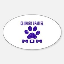Clumber Spaniel mom designs Decal
