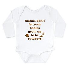 Unique Nelson Long Sleeve Infant Bodysuit