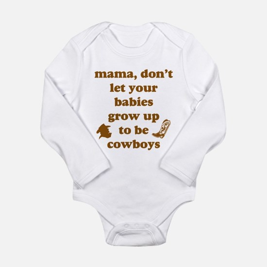 Unique Western horses Long Sleeve Infant Bodysuit