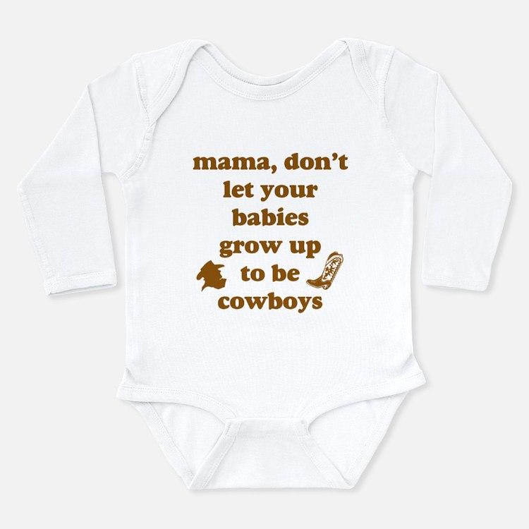 Cute Willie nelson Long Sleeve Infant Bodysuit
