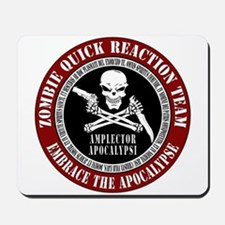 Zombie Quick Reaction Team Mousepad