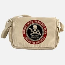 Zombie Quick Reaction Team Messenger Bag