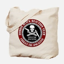 Zombie Quick Reaction Team Tote Bag