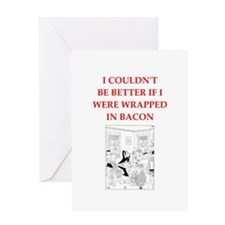 duplicate bridge joke Greeting Cards