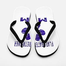Flat-Coated Retriever mom designs Flip Flops