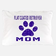 Flat-Coated Retriever mom designs Pillow Case