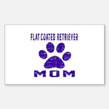 Flat-Coated Retriever mo Decal