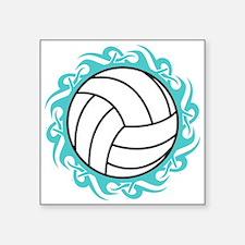 tribal volleyball Sticker