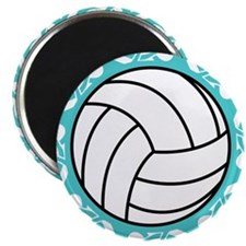 tribal volleyball Magnets