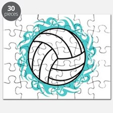 tribal volleyball Puzzle