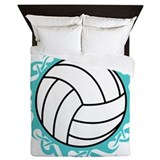 Volleyball Queen Duvet Covers